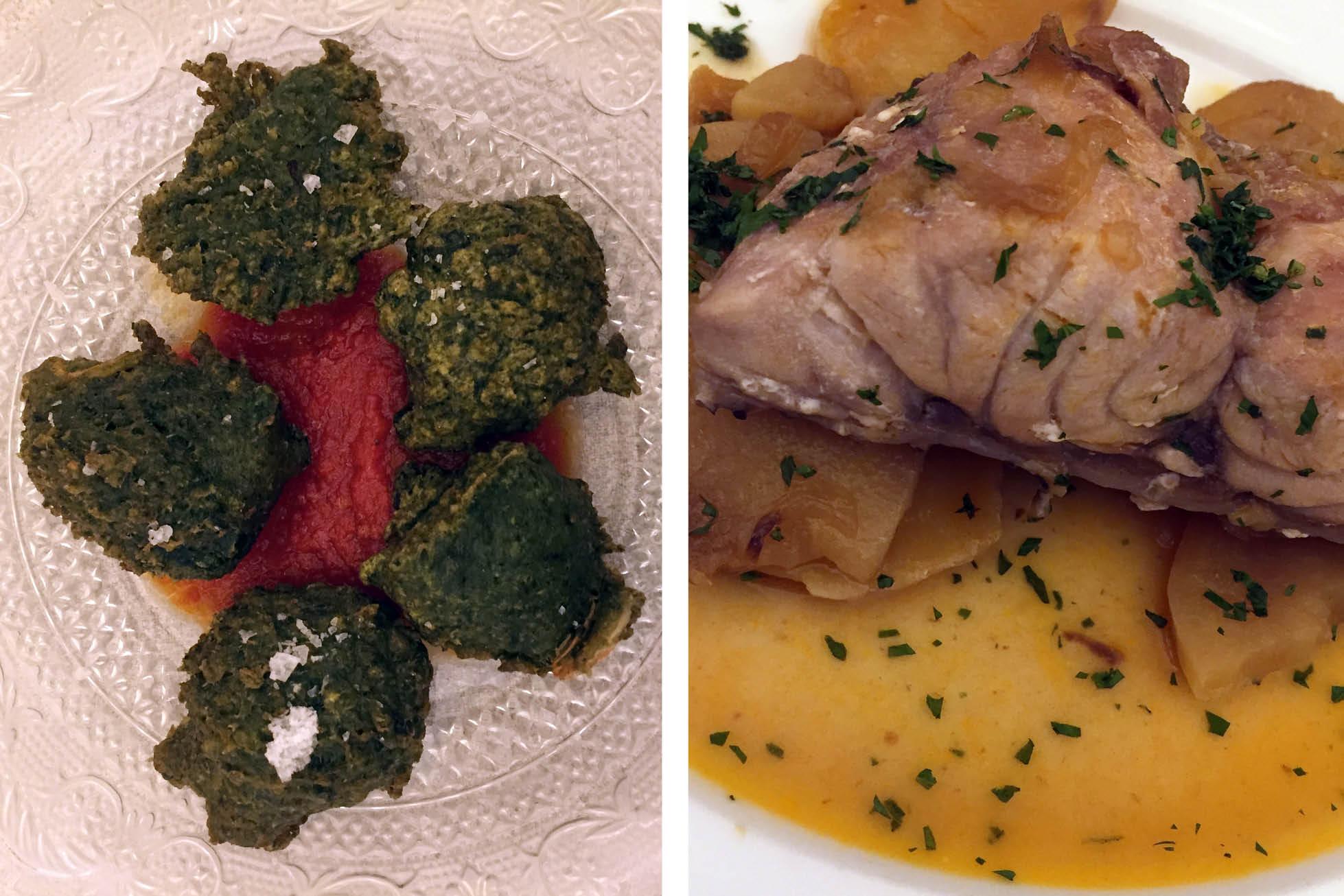 Es Tast De Na Silvia restaurant dishes