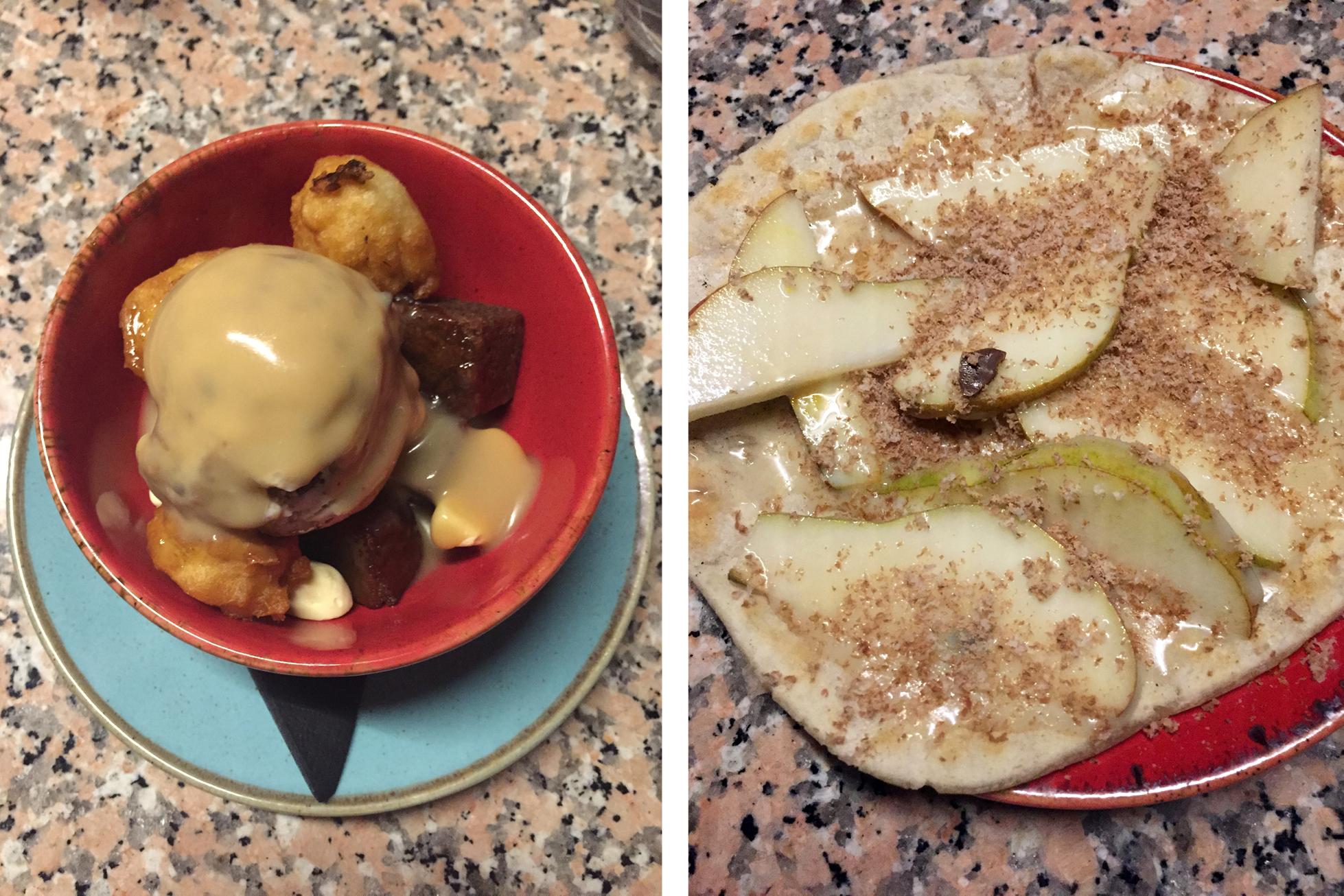 Temper restaurant dessert