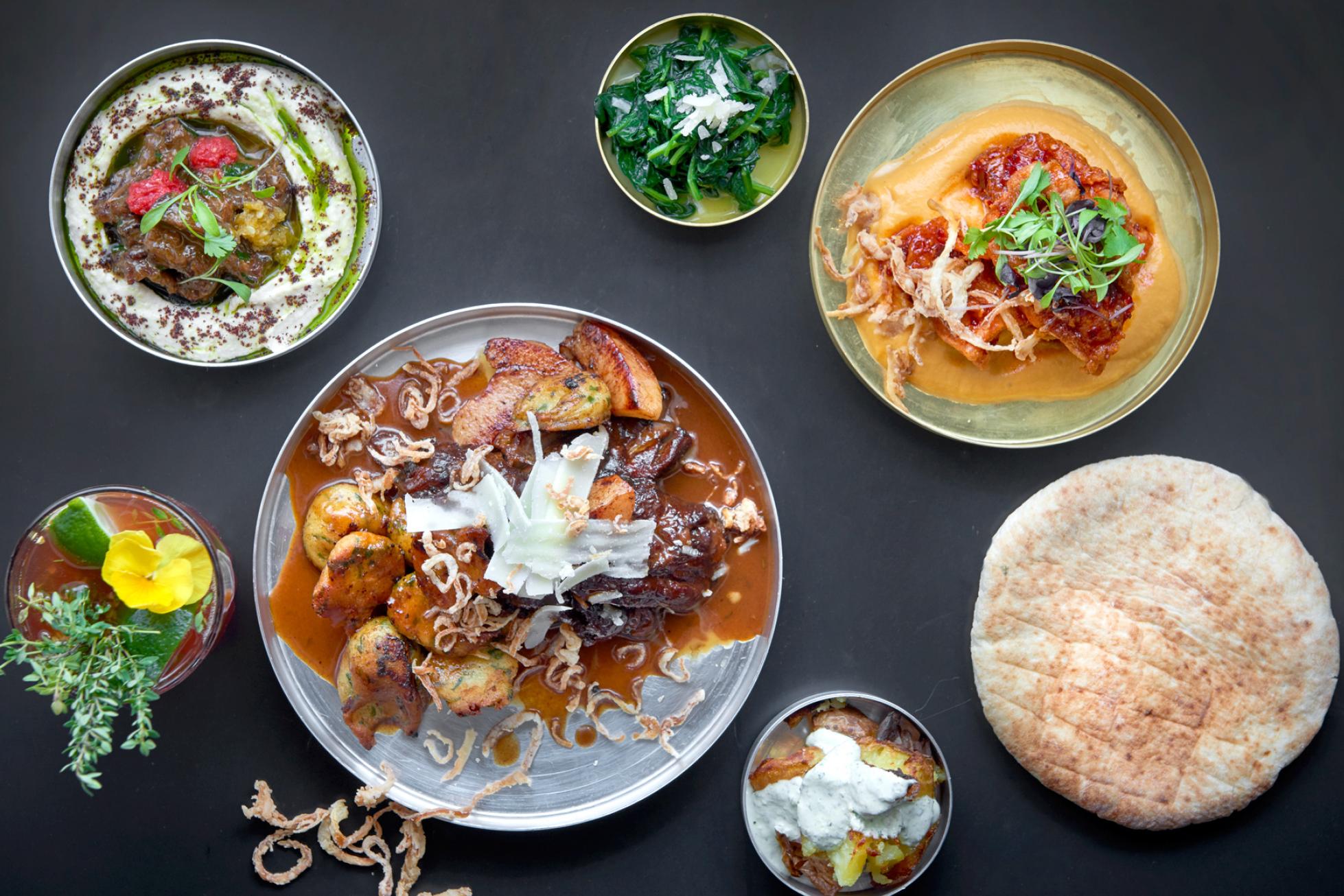 Bala Baya dish selection