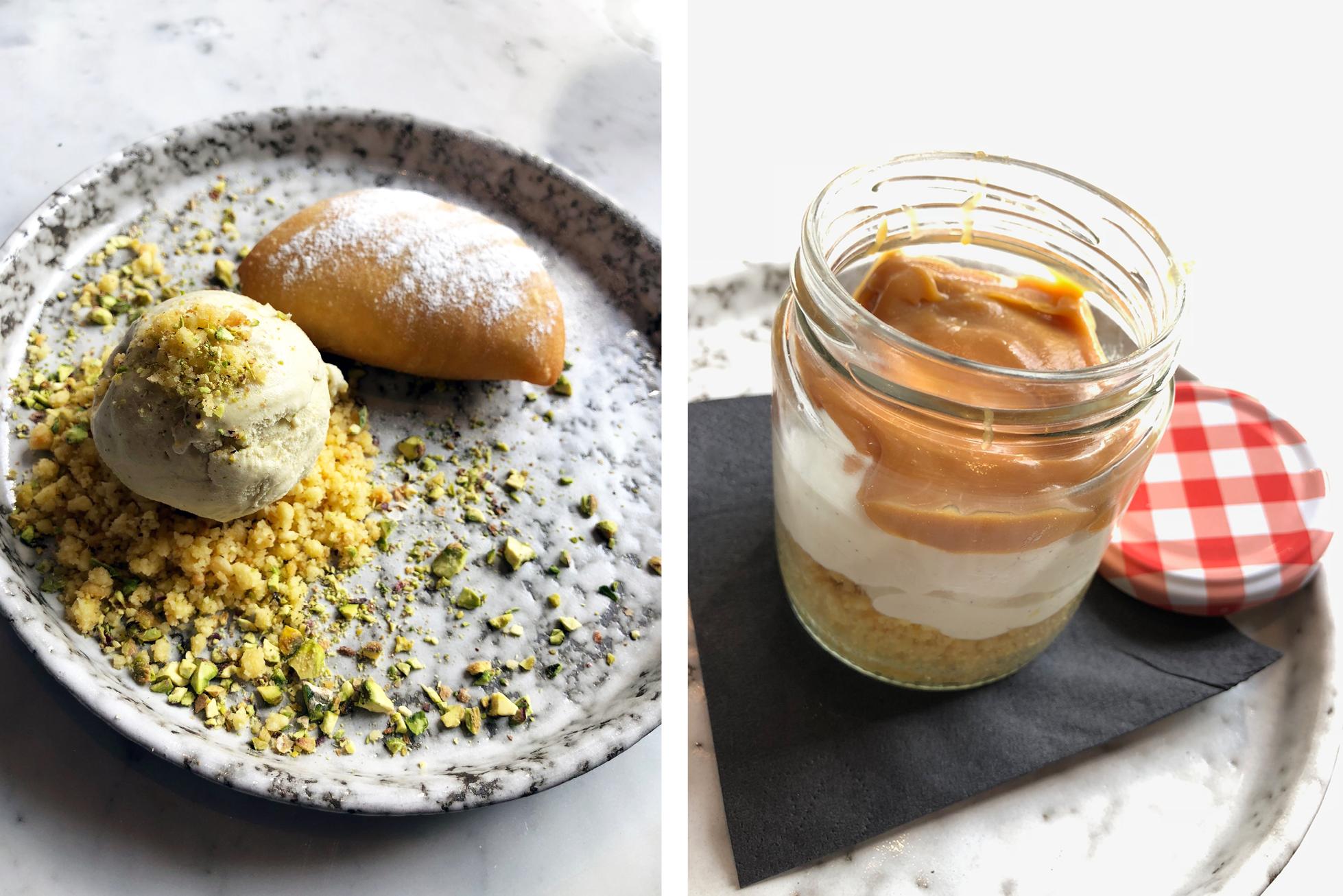 The Belrose desserts
