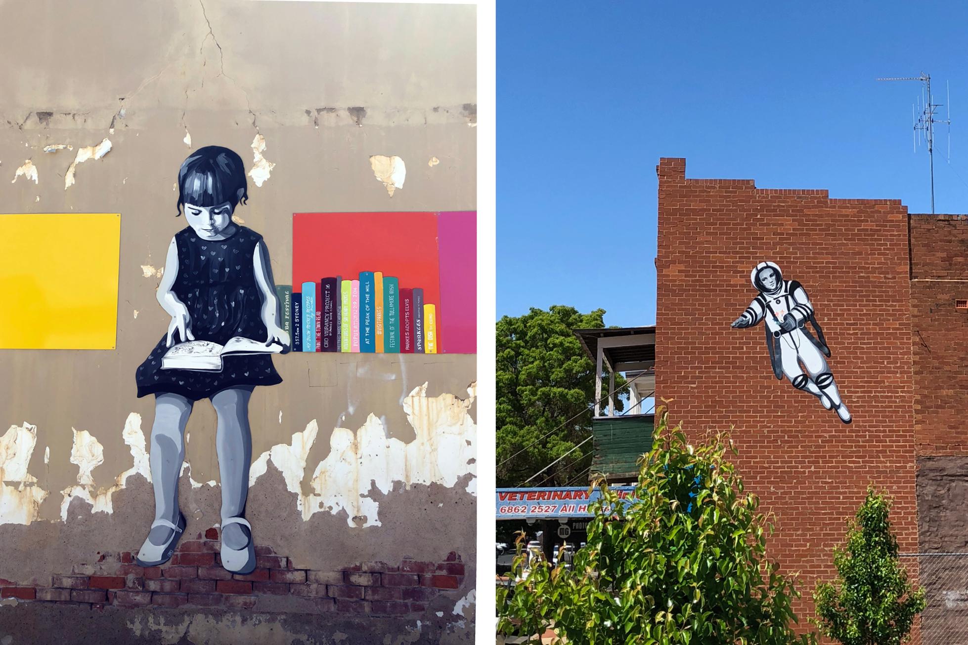 Parkes Street Art 2