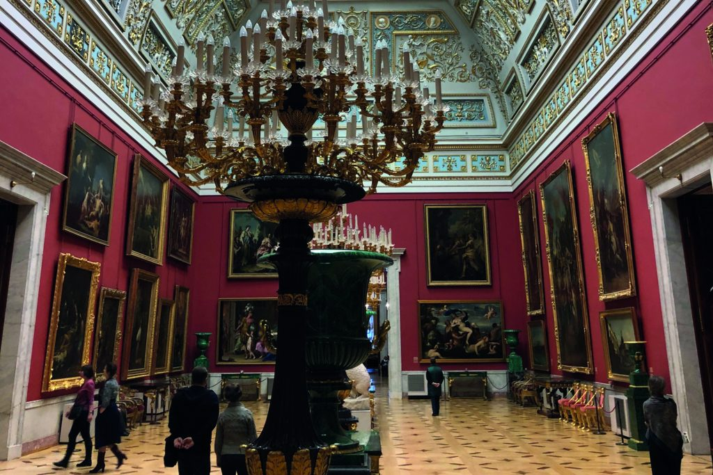 st petersburg hermitage winter palace