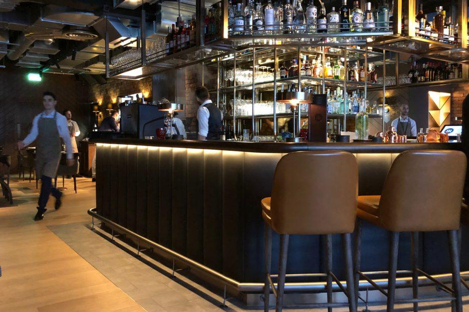 Heritage bar and decor