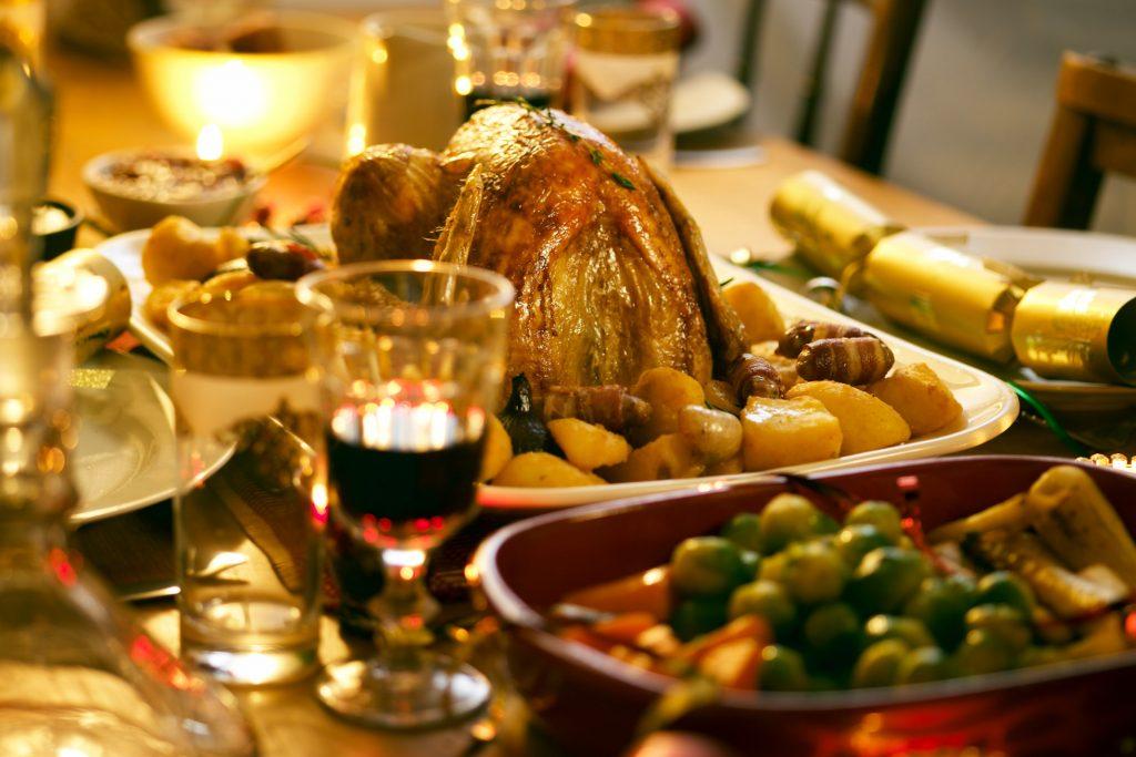 festive feast turkey